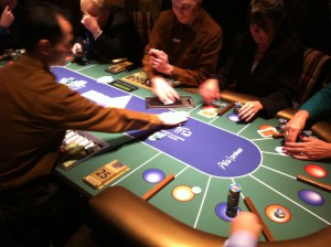Multi-Action Table at Aria