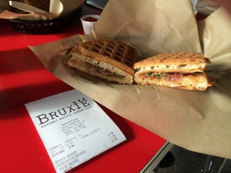 Bruxie S Gourmet Waffle Sandwiches Nolan S Blog